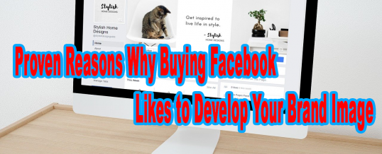Proven Reasons Why Buying Facebook Likes to Develop Your Brand Image